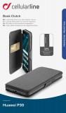 CellularLine Book Clutch flipové pouzdro pro Huawei P30, černé