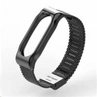 Eses kovový černý řemínek pro Xiaomi Mi Band 2