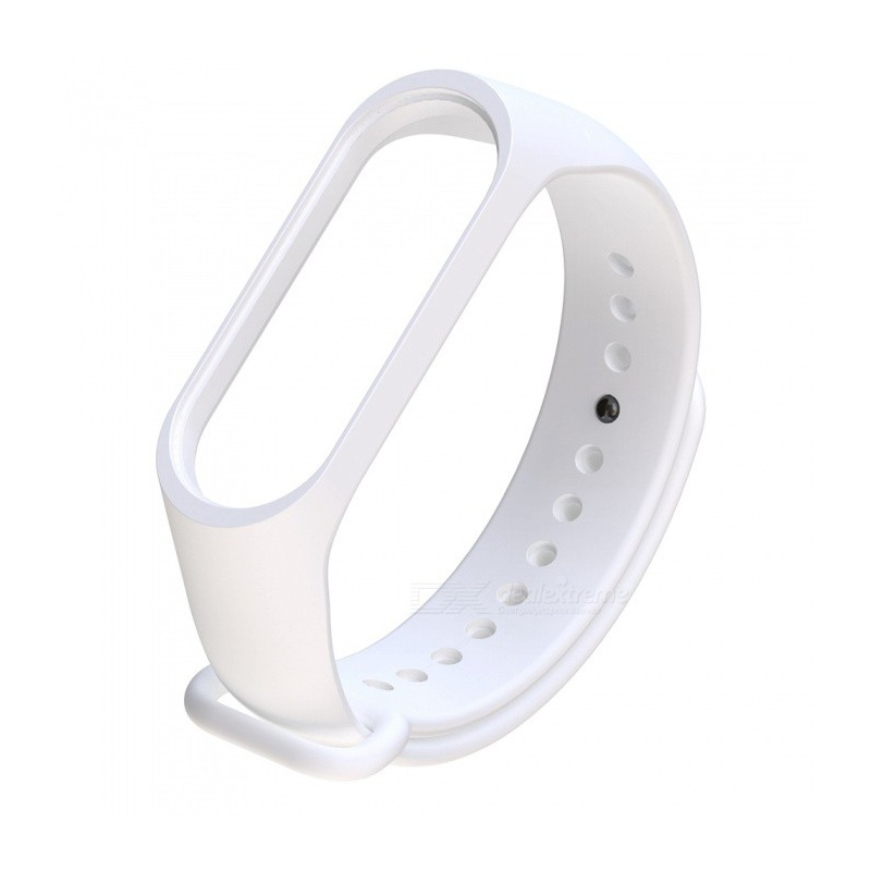 Miband 3 Replacement Strap (White)
