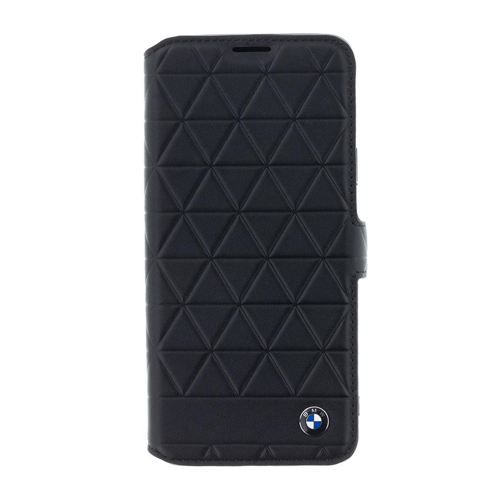 BMW Hexagon BMFLBKS9LHEXBK flipové pouzdro pro Samsung Galaxy S9+ black