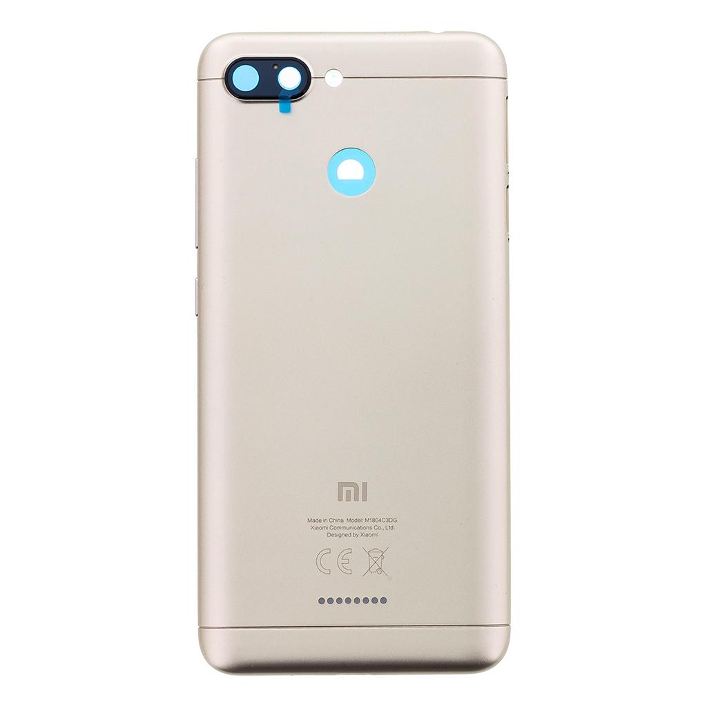 Kryt baterie Xiaomi Redmi 6 gold
