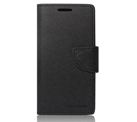 Pouzdro Mercury Fancy Diary pro Huawei Y6 2019, černá