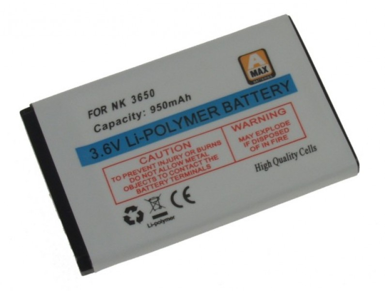 Baterie Nokia 11/23/31/6230/6600, ALIGATOR A290/330/400/500(i), Li-POL, 950 mAh