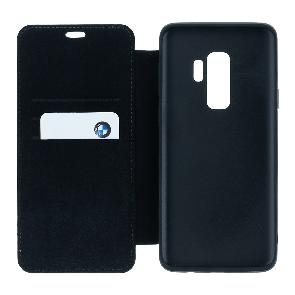 BMW Signature BMFLBKS9LLLSB flipové pouzdro pro Samsung Galaxy S9+ black