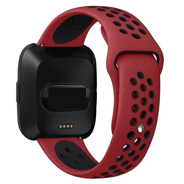 Handodo Double Silikonový Pásek pro Xiaomi Amazfit Bip Red/Black (EU Blister)