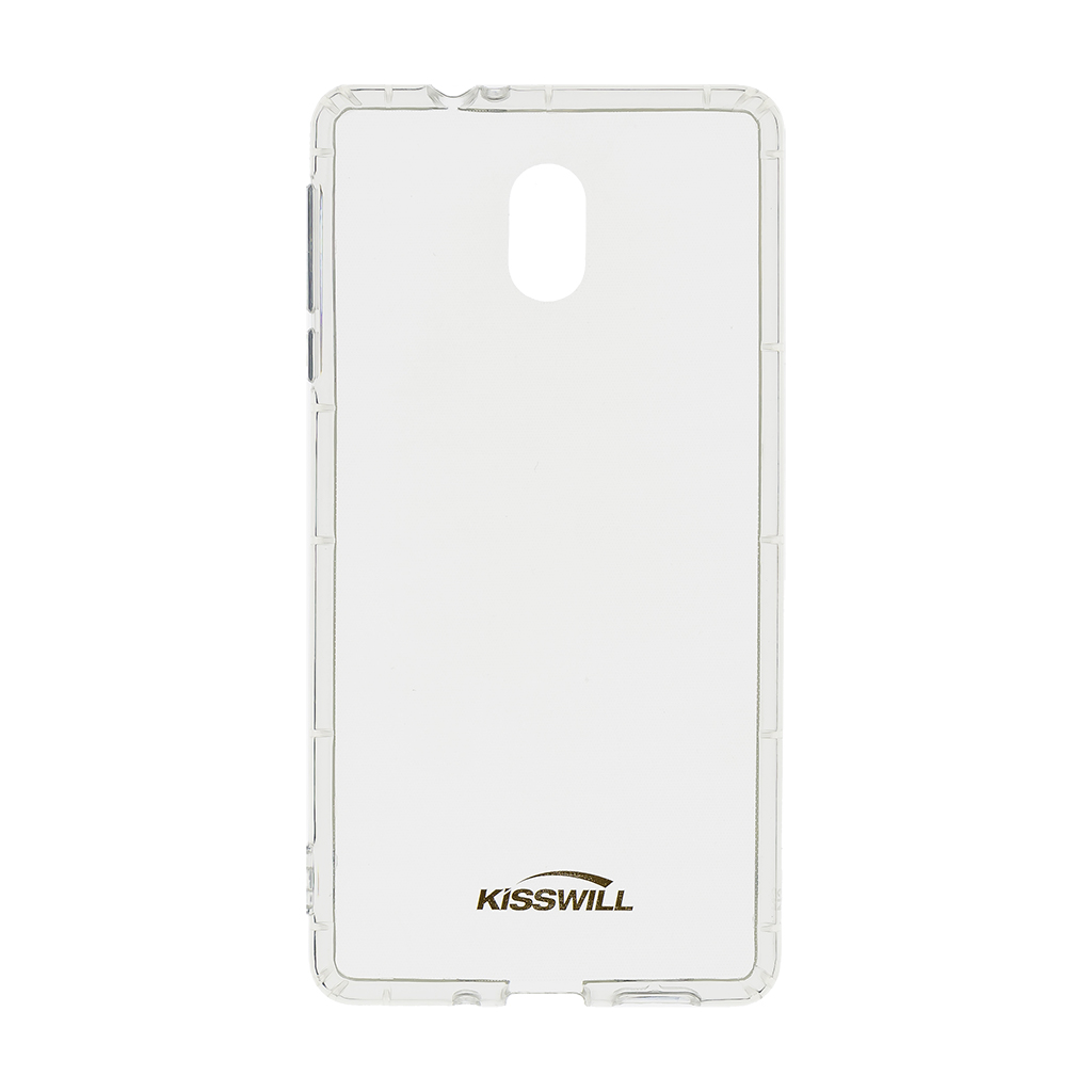 Silikonové pouzdro Kisswill pro Huawei Y6 2019, transparentní