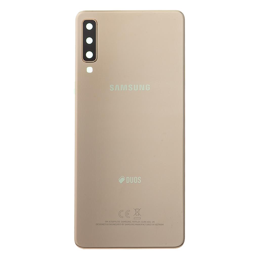 Kryt baterie Samsung Galaxy A7 A750 2018 gold (Service Pack)