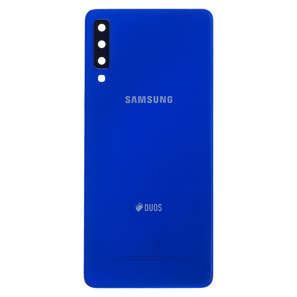 Kryt baterie Samsung Galaxy A7 A750 2018 blue (Service Pack)