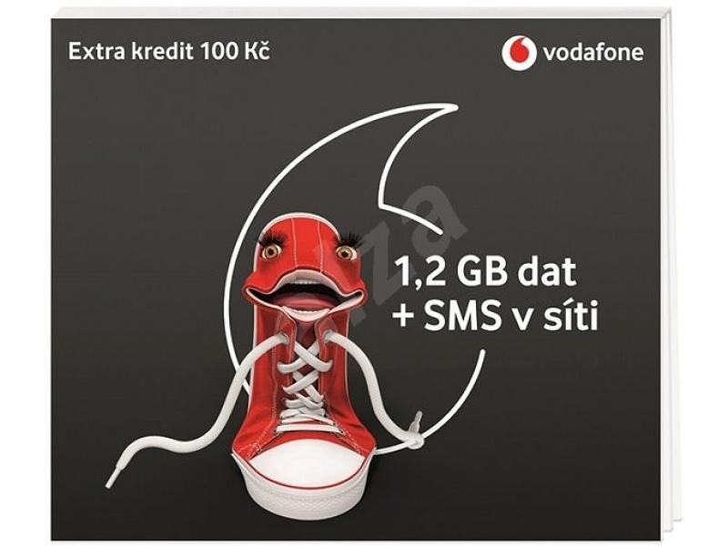 Předplacená karta na data Vodafone