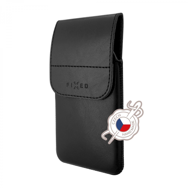 FIXED Pocket Pouzdro s klipem velikost 5XL+, černé