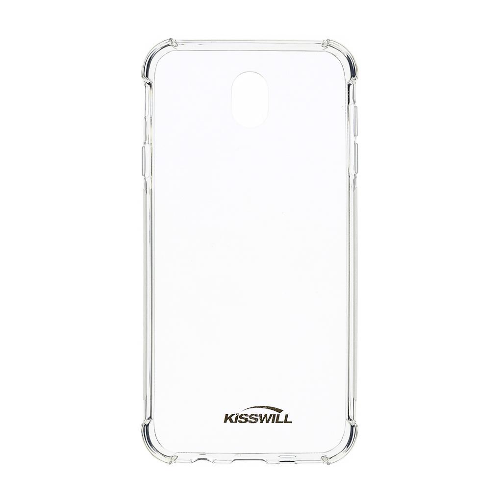Kisswill Shock silikonové pouzdro pro Samsung Galaxy S10+, transparentní