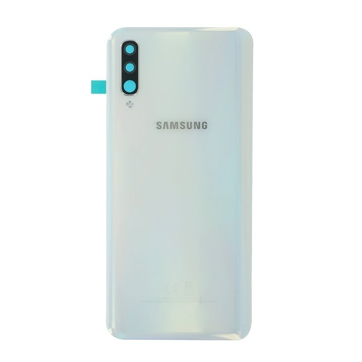 Kryt baterie Samsung Galaxy A50 white (Service Pack)