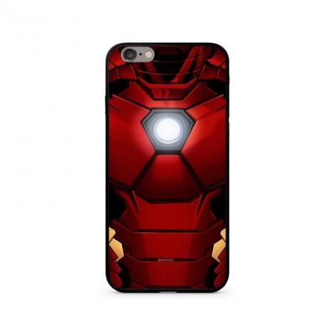 Zadní kryt MARVEL Iron Man 024 Premium Glass pro Apple iPhone XS, red