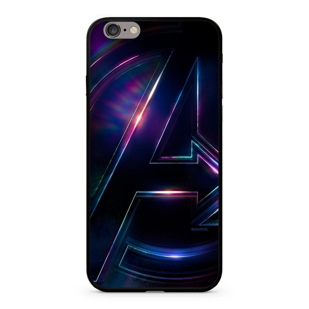 Zadní kryt Marvel Avengers 012 Premium Glass pro Apple iPhone 6/6S, multicolored