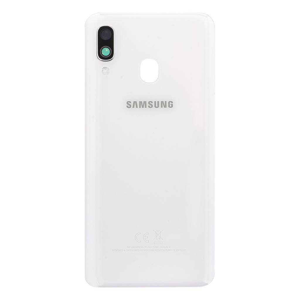 Kryt baterie Samsung Galaxy A40 white (Service Pack)