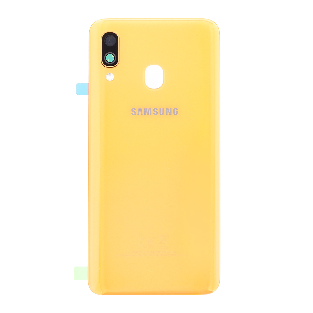 Kryt baterie Samsung Galaxy A40 coral (Service Pack)