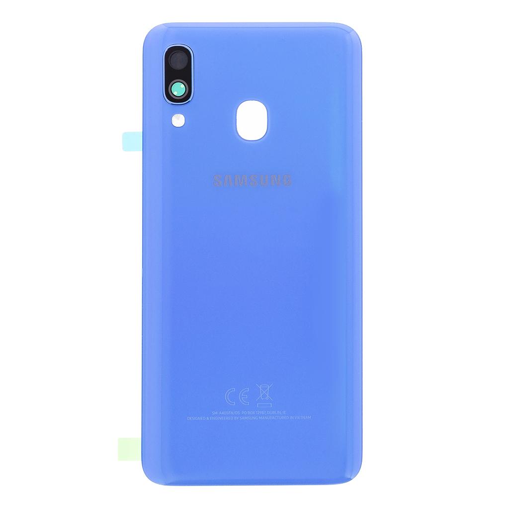 Kryt baterie Samsung Galaxy A40 blue (Service Pack)
