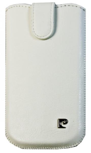 Pouzdro Pierre Cardin - SLIM pro Samsung Galaxy SII, bílé