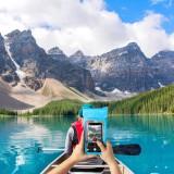 """CELLY Splash Bag 2019 voděodolné pouzdro pro telefony 6.5"""", modré"""