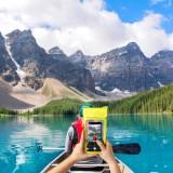 """CELLY Splash Bag 2019 voděodolné pouzdro pro telefony 6.5"""", žluté"""