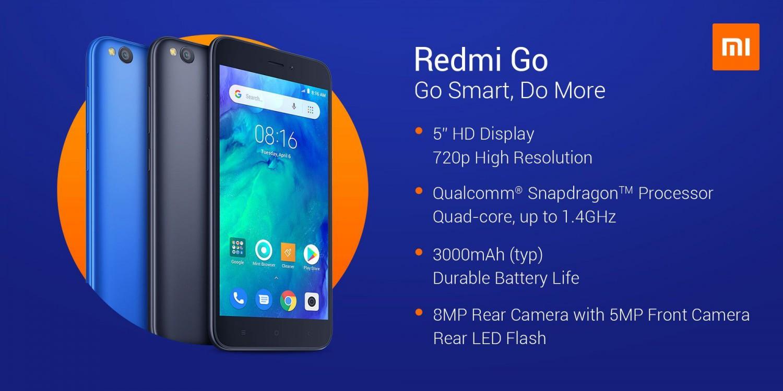 Xiaomi Redmi GO 1GB/16GB černá