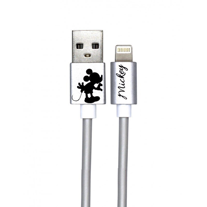 Datový Kabel Disney Minnie Lightning Kissing Alone, silver