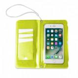 """CELLY Splash Wallet voděodolné pouzdro na telefony 6.2 """", žlutépro telefony 6,2 """", žluté"""
