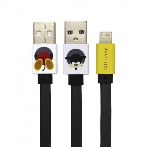 Datový kabel Disney Mickey Lightning, black