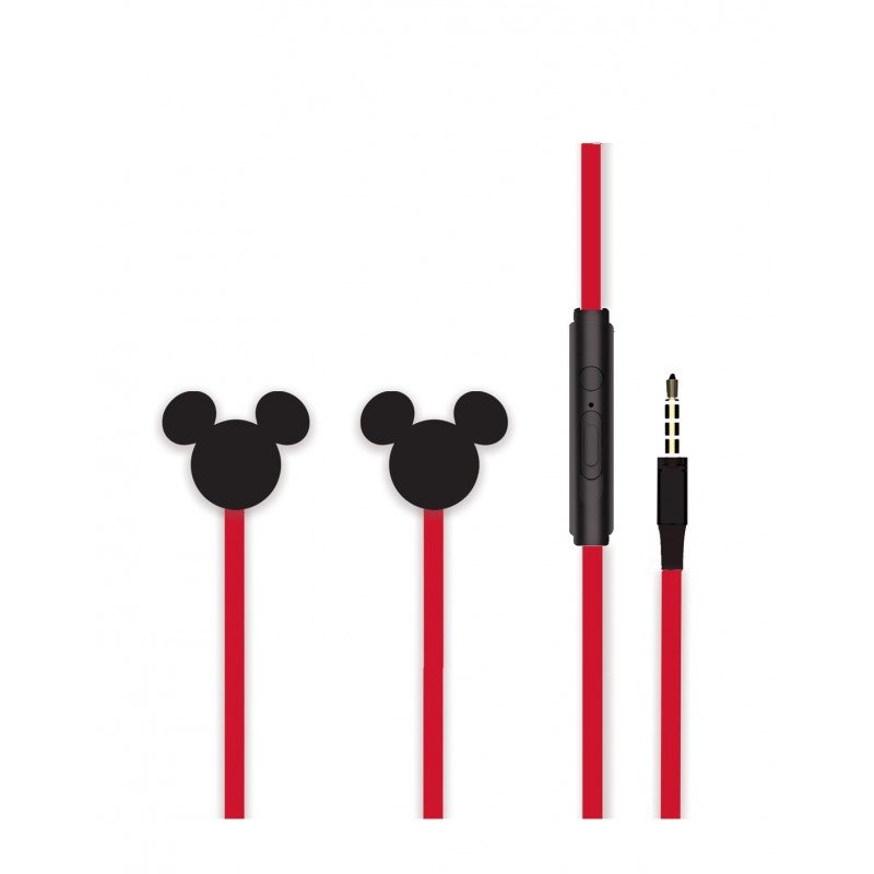 Sluchátka Disney stereo 3.5mm Mickey Matt 3D, black