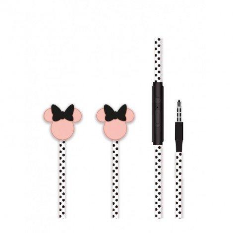 Sluchátka Disney stereo 3.5mm Minnie Matt 3D, black