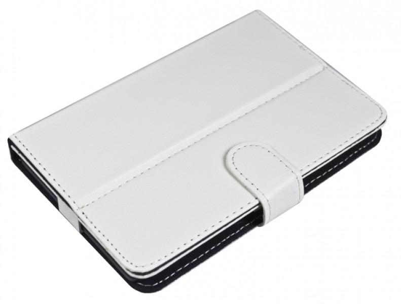 """Pouzdro TABLET BOOK 10"""" white (270x165mm), se stojánkem, univerzální, syntetická kůže"""