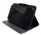 """Pouzdro TABLET SMART 7"""", se stojánkem, univerzální, syntetická kůže, Black"""