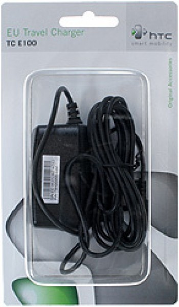Nabíječka HTC TC E100 miniUSB, originální, Black