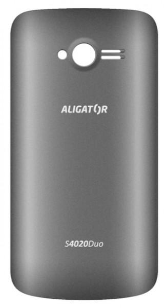 Zadní kryt ALIGATOR S4020 DUO, originální, Grey