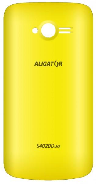 Zadní kryt ALIGATOR S4020 DUO, yellow