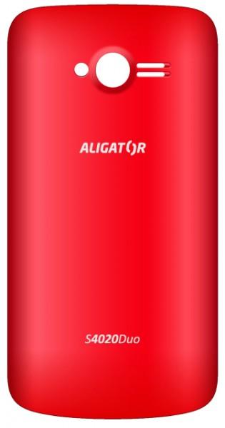 Zadní kryt ALIGATOR S4020 DUO, originální, Red