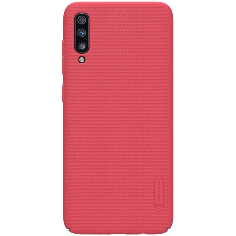 Nillkin Super Frosted zadní kryt pro Samsung Galaxy A70, red