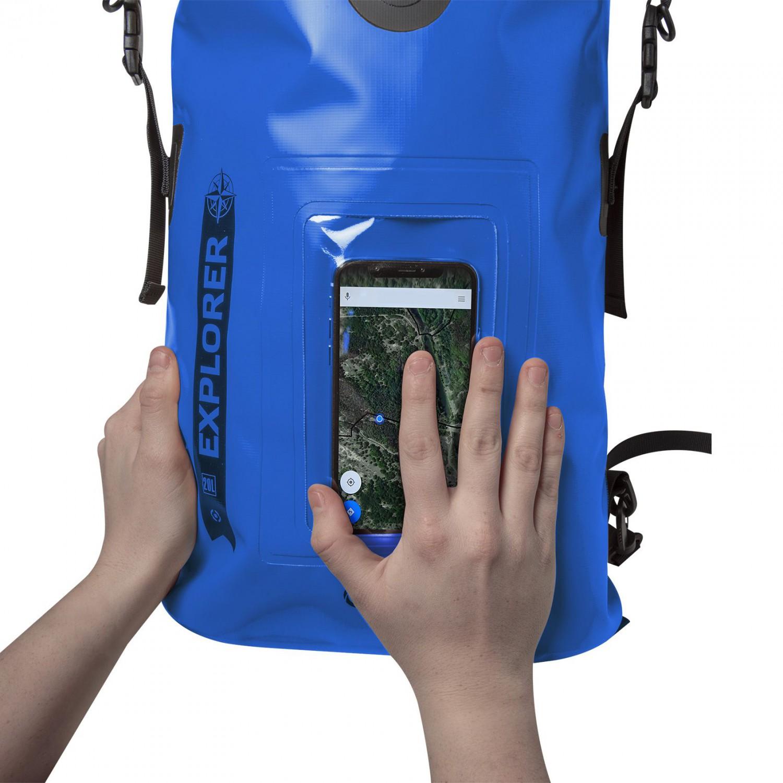 """CELLY Explorer voděodolný batoh 20L s kapsou na telefon do 6.5"""",  modrý"""