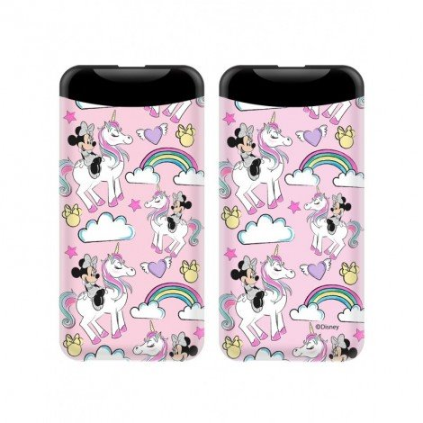PowerBank Disney Minnie 015 6000mAh, pink