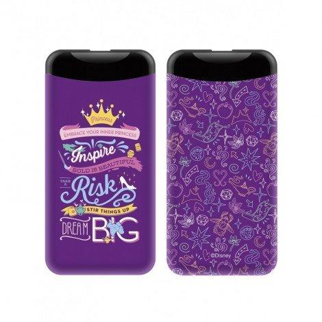 PowerBank Disney Princess 002 6000mAh, violet