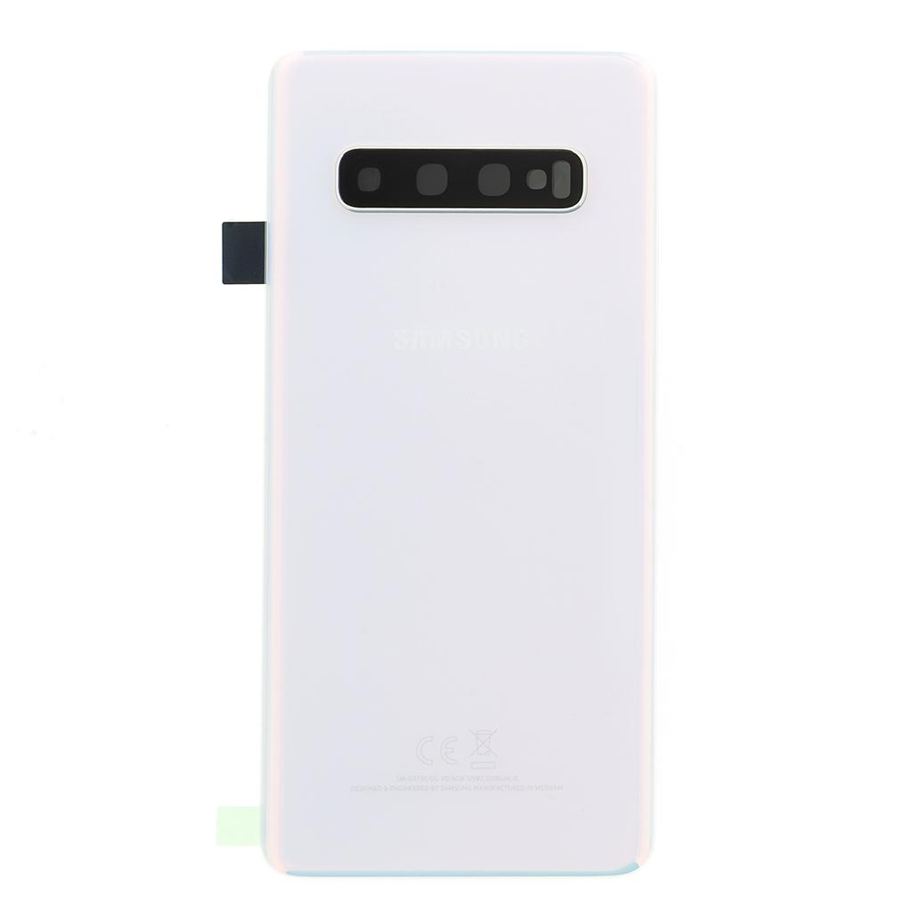 Kryt baterie Samsung Galaxy S10 white (Service Pack)