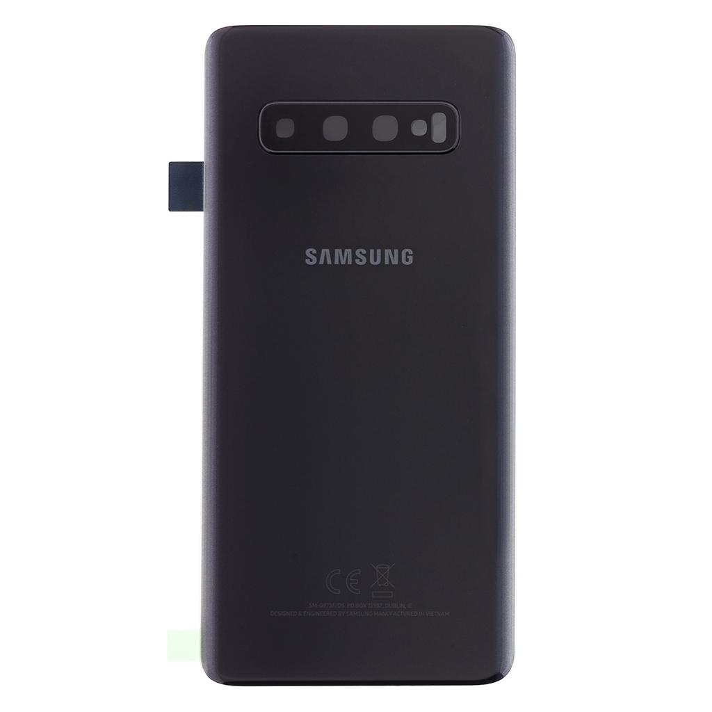 Kryt baterie Samsung Galaxy S10 black (Service Pack)