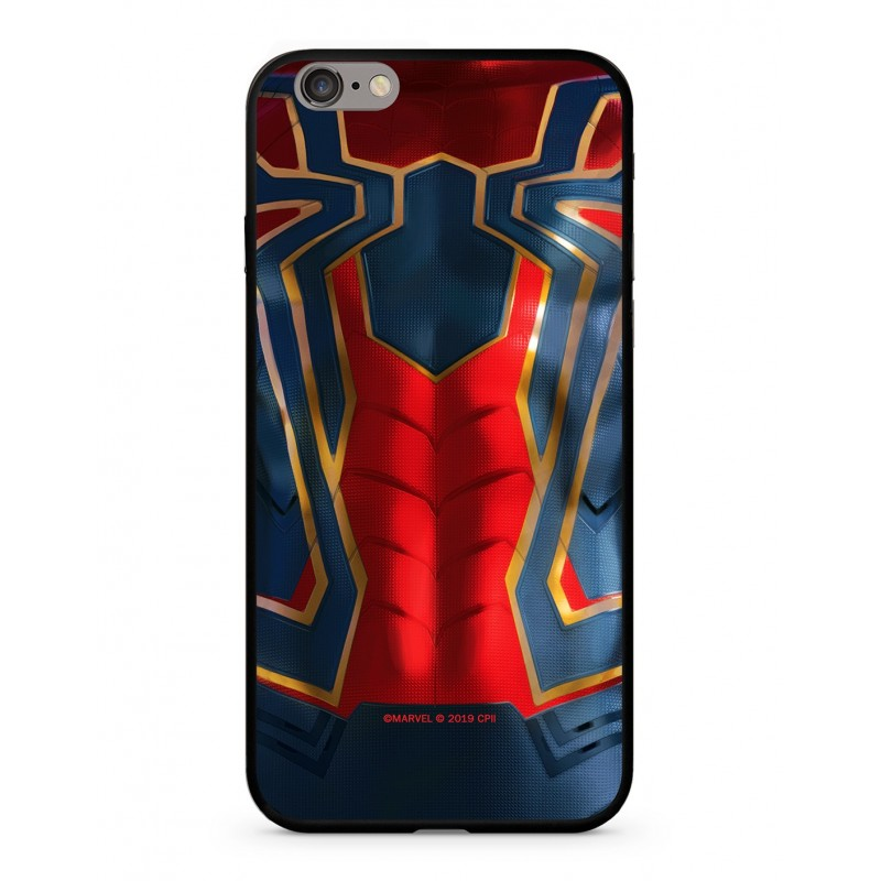 Zadní kryt Marvel Spiderman 016 Premium Glass pro Apple iPhone 6/6S, multicolored