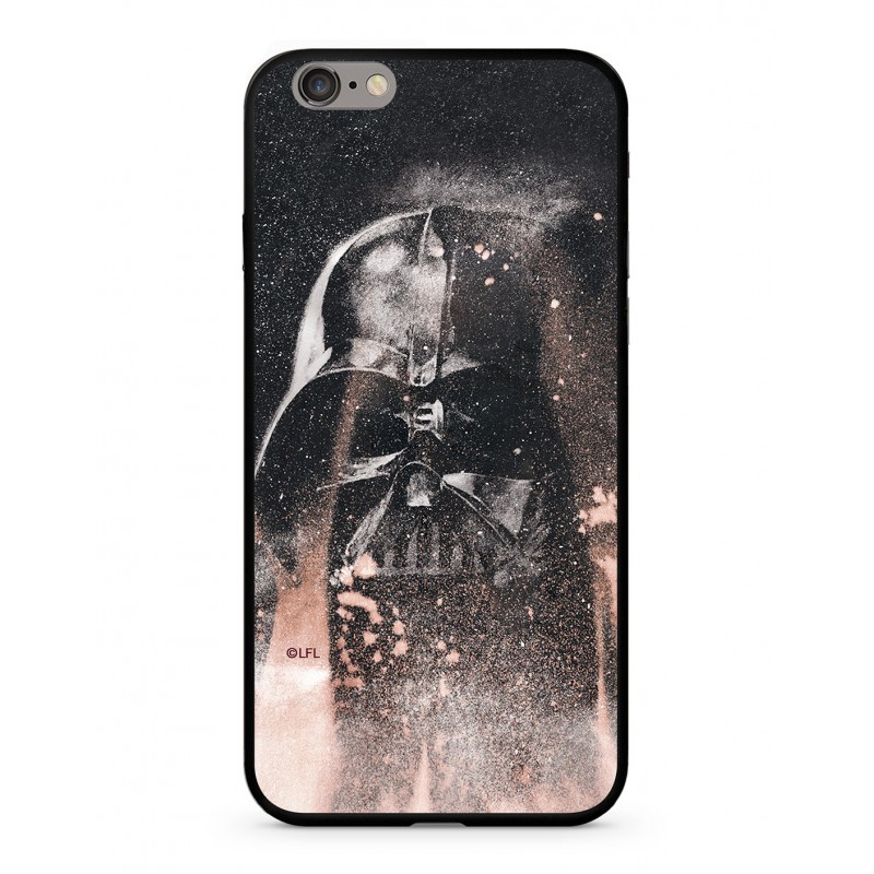 Zadní kryt Star Wars Darth Vader 014 Premium Glass pro Apple iPhone XS, multicolored