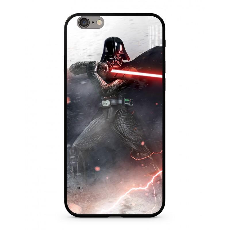 Zadní kryt Star Wars Darth Vader 002 Premium Glass pro Apple iPhone XR, multicolored