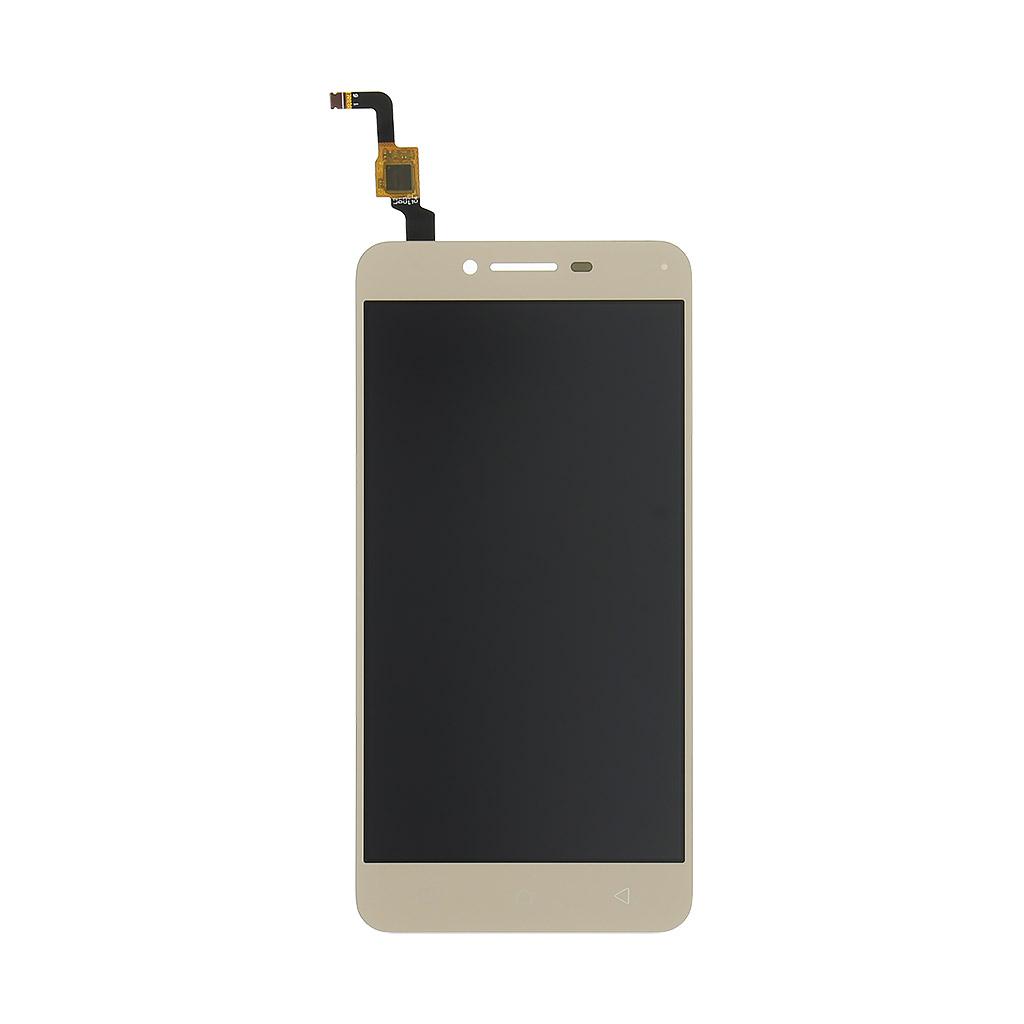 LCD + dotyk + přední kryt pro Lenovo Vibe K5 Plus, gold