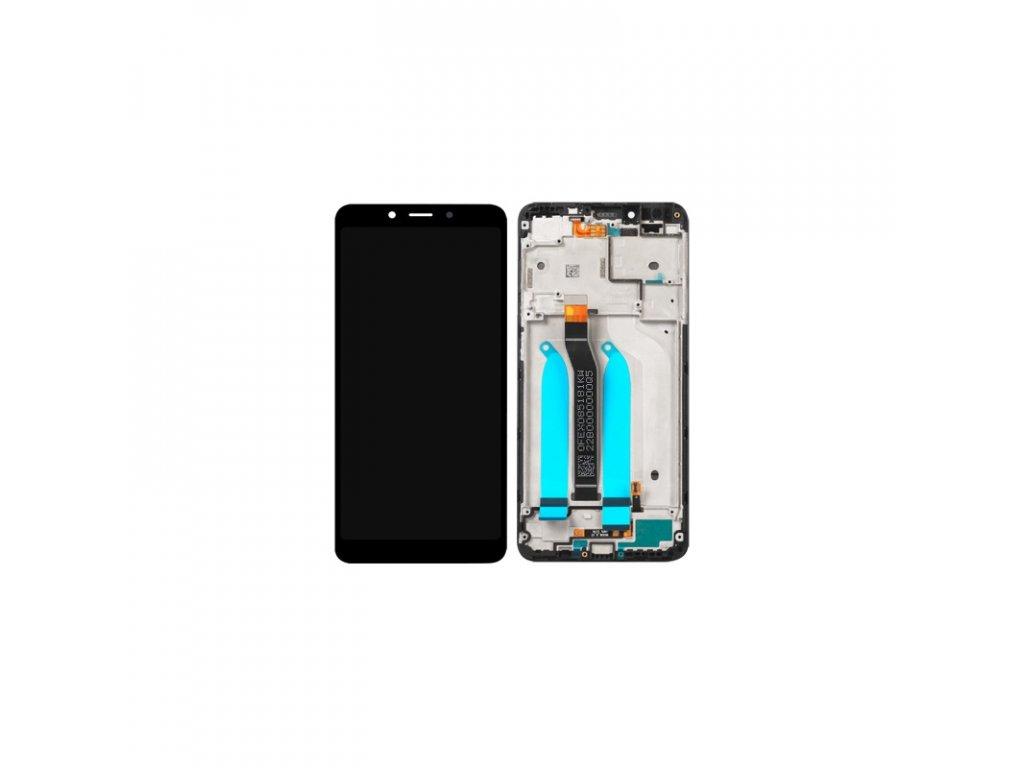 LCD + dotyk + přední kryt pro Xiaomi Pocophone F1, black (Service Pack)