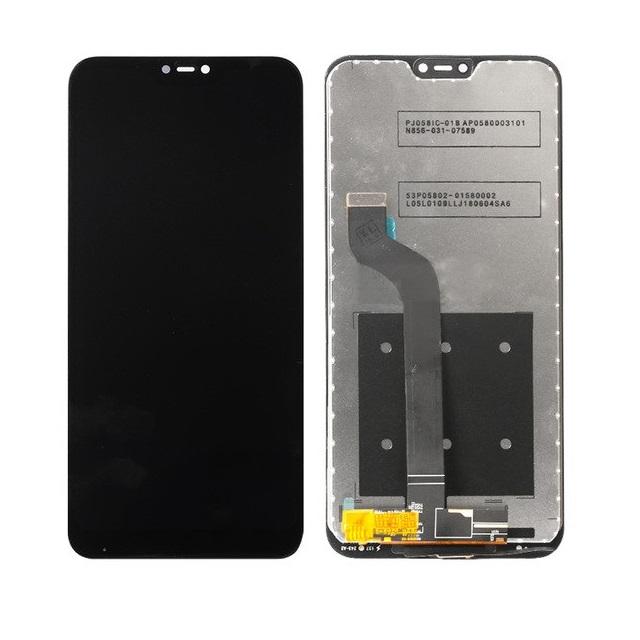 LCD + dotyk + přední kryt pro Xiaomi Mi A2 Lite, black