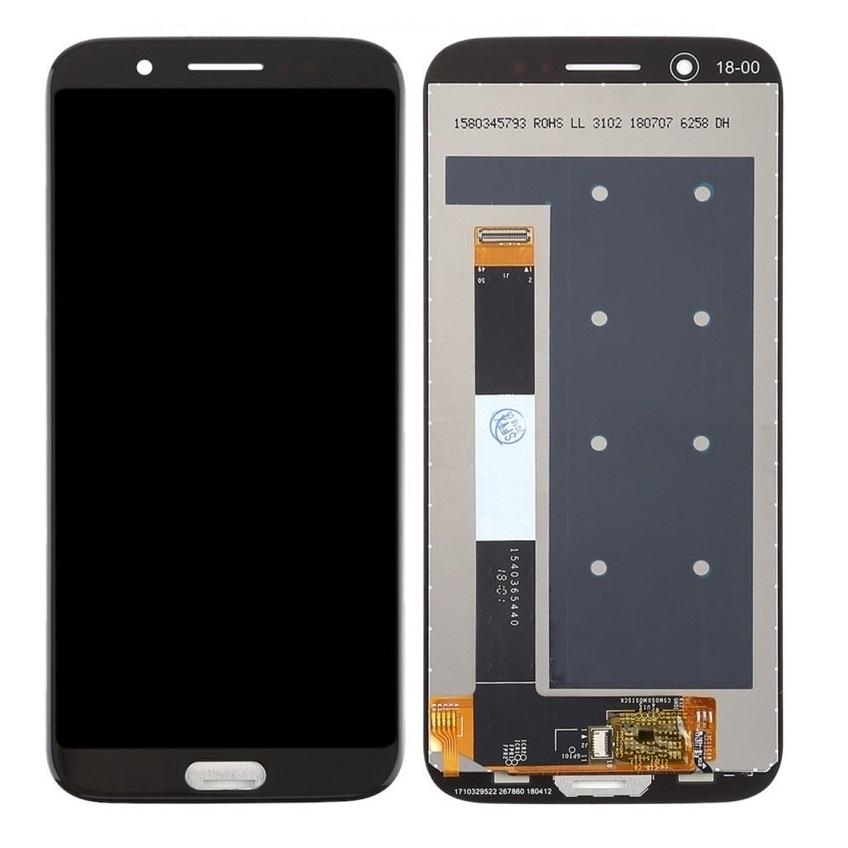 LCD + dotyk + přední kryt pro Xiaomi Pocophone F1, black