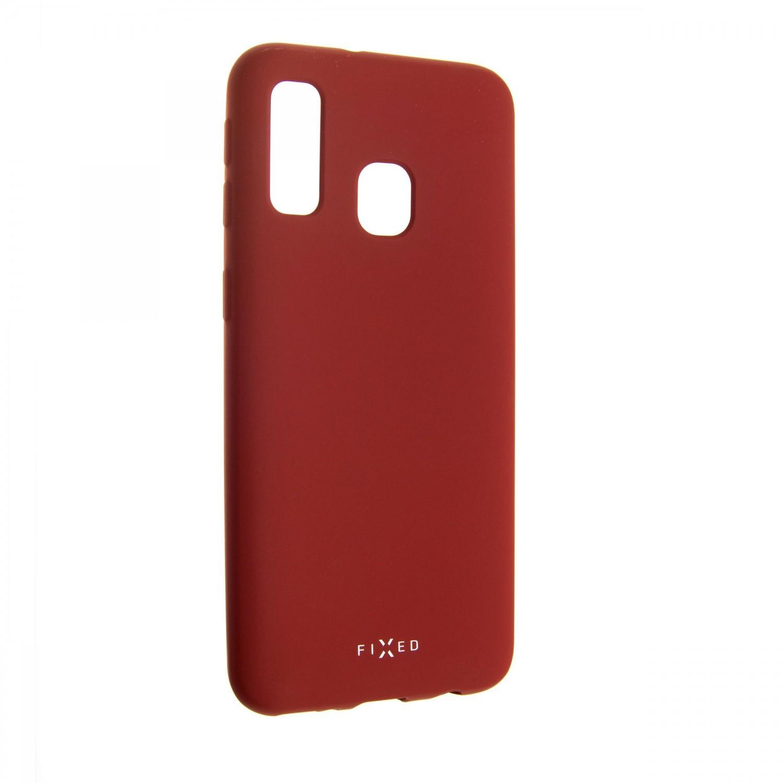 Zadní kryt FIXED Story pro Samsung Galaxy A40, červený